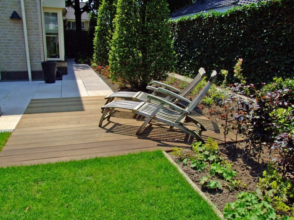 Renovatie Smalle Tuin : Leeftuin passie voor tuinen